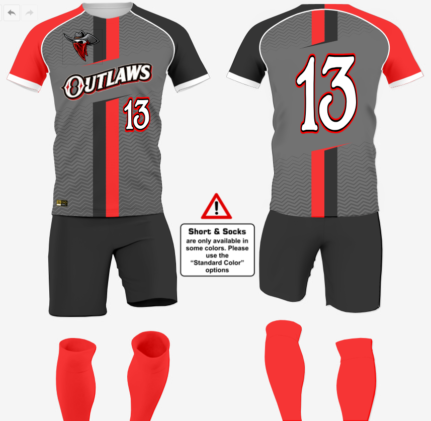 retro Soccer Uniform Designs