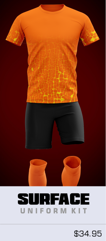 Surface Customizable Soccer Uniform