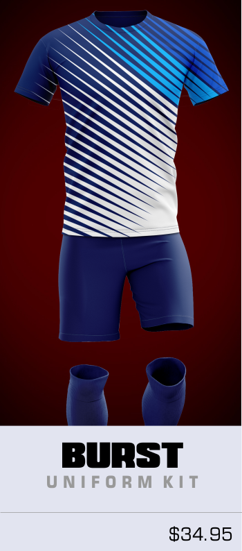 Burst Soccer Uniform Set