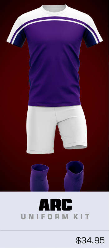 Arc Customizable Soccer Uniform