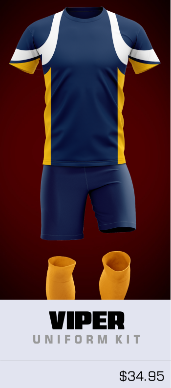 Viper Customizable Soccer Uniform