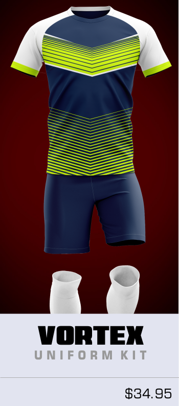 Vortex Customizable Soccer Uniform