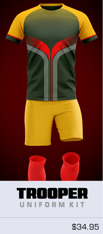 Trooper Customizable Soccer Uniform