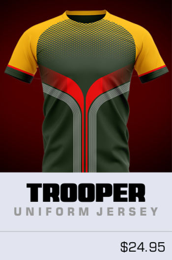 Trooper Soccer Jersey Thumbnail
